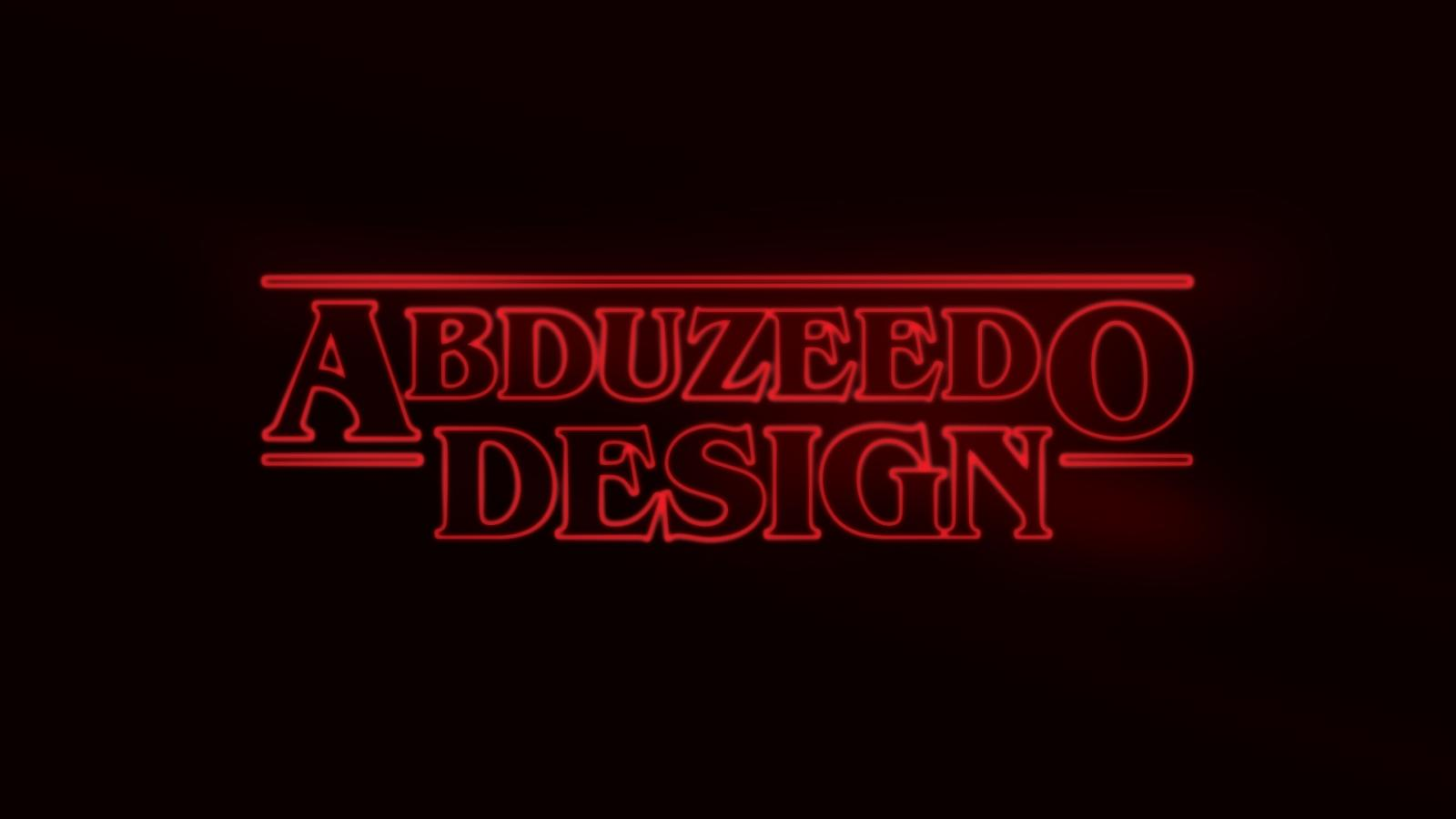 Tutorial abduzeedo stranger things logo photoshop tutorials baditri Images