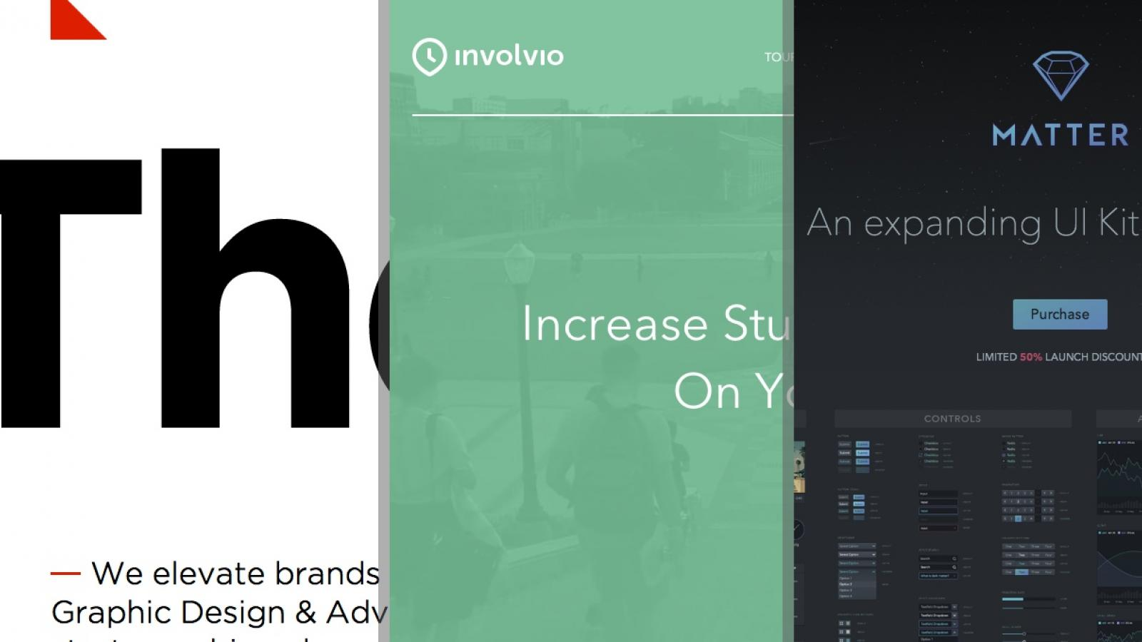 Sites of the Week: Matter, Involvio, The Cut and more