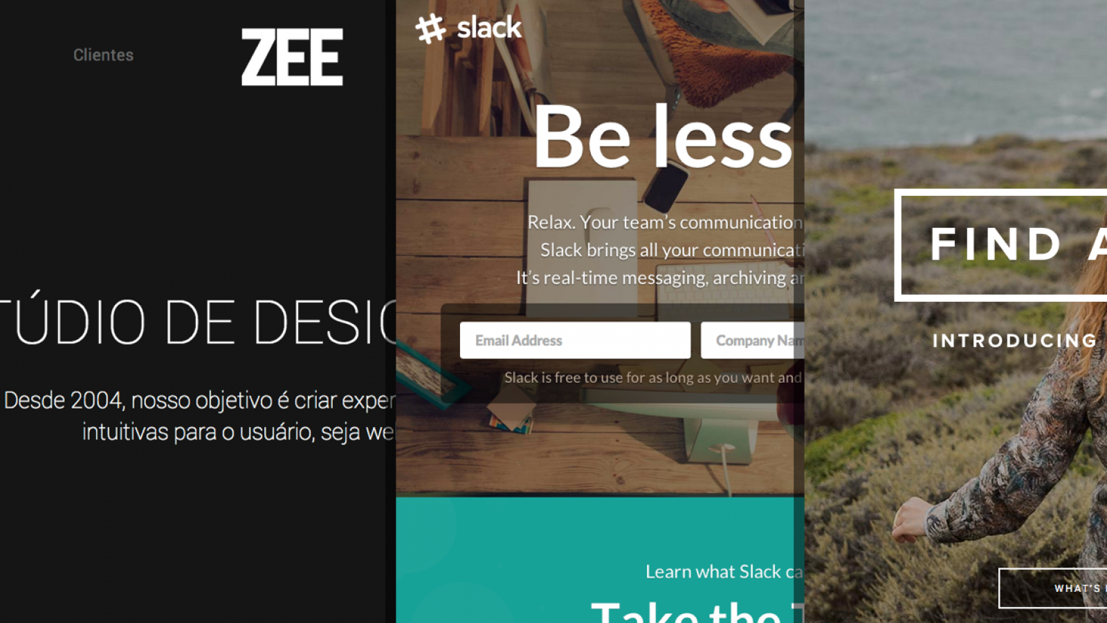 Sites of the Week: Zee, Slack, Navdy and more