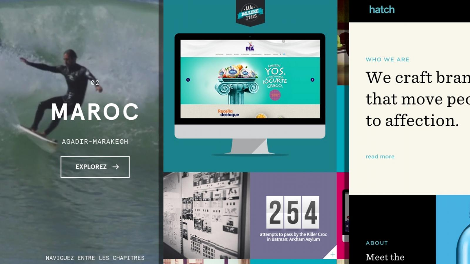 Sites of the Week: Perverte, OuiSurf, Hatch Studio and more