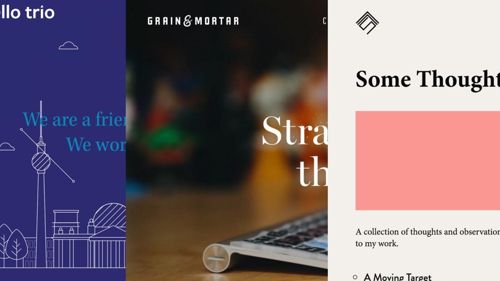 Sites of the Week: Simon Foster, BUILT, Grain & Mortar and more
