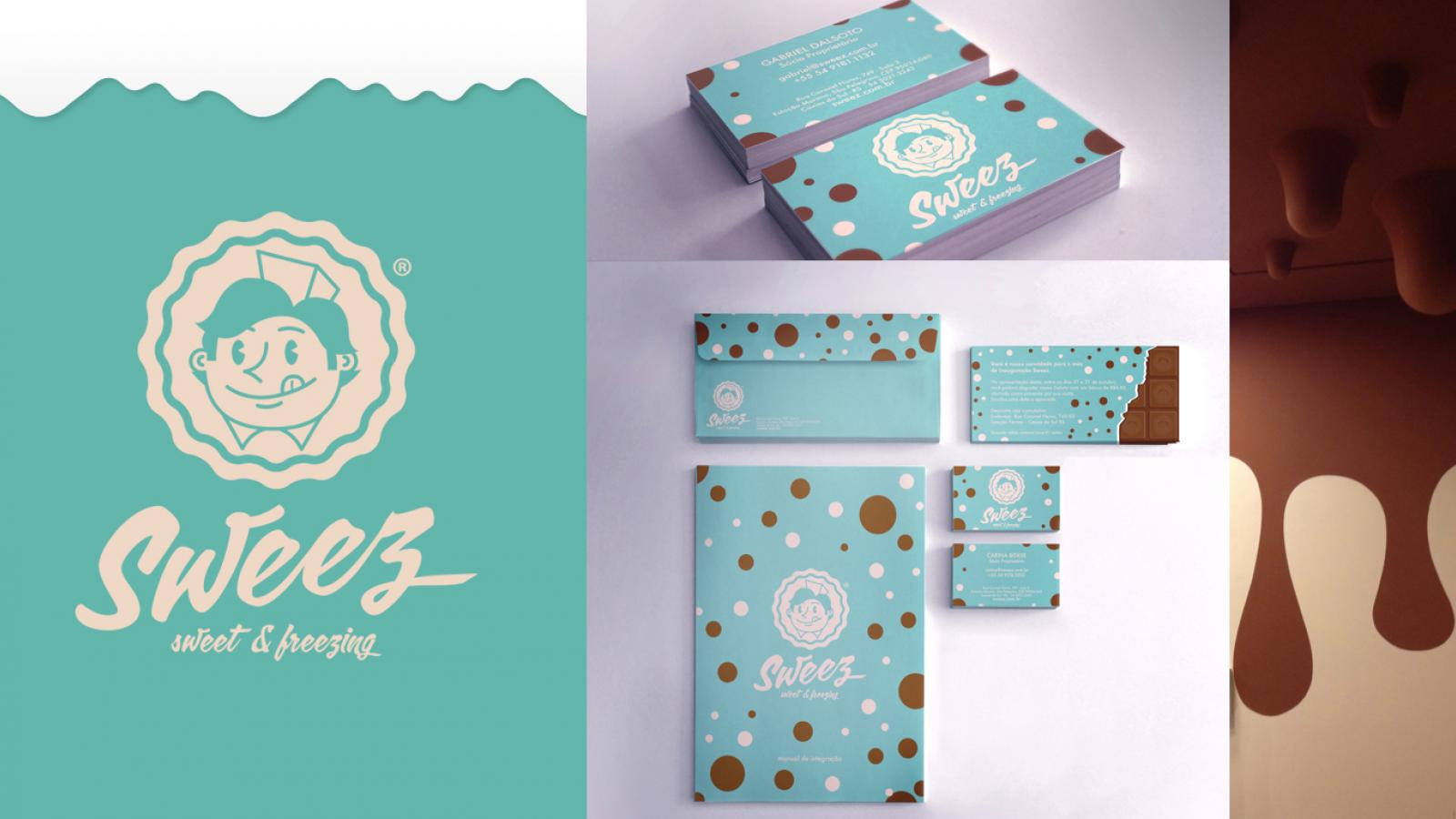 Sweez Branding and Packaging Identity by Maurício Cardoso