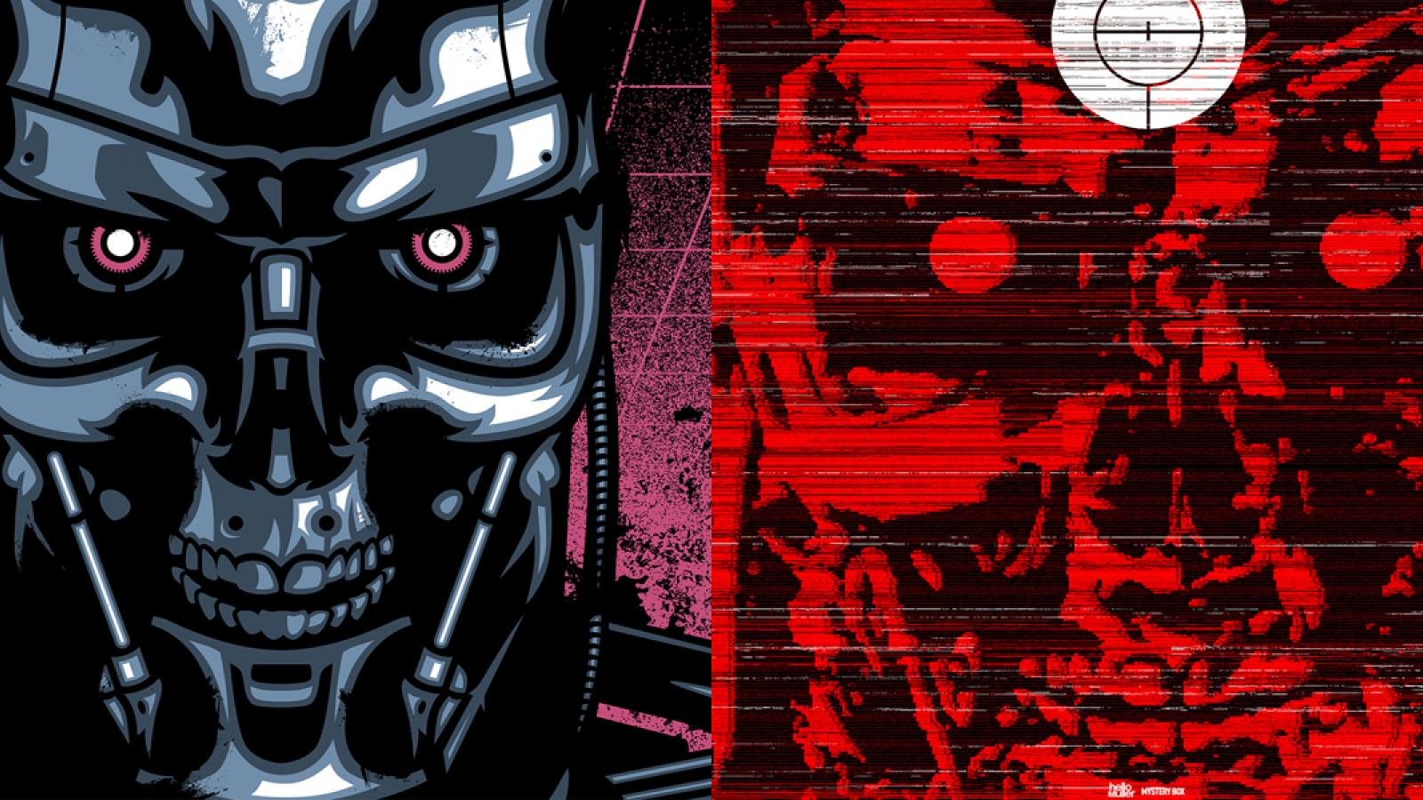 Terminator 2 Posters Launch by Signalnoise and helloMuller