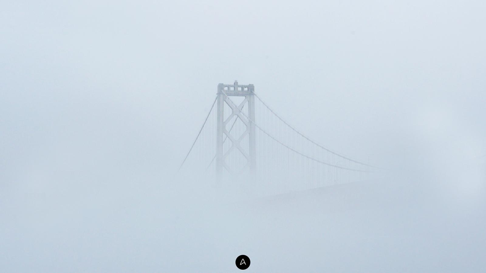 Wallpaper of the Week - Fog and the bridge