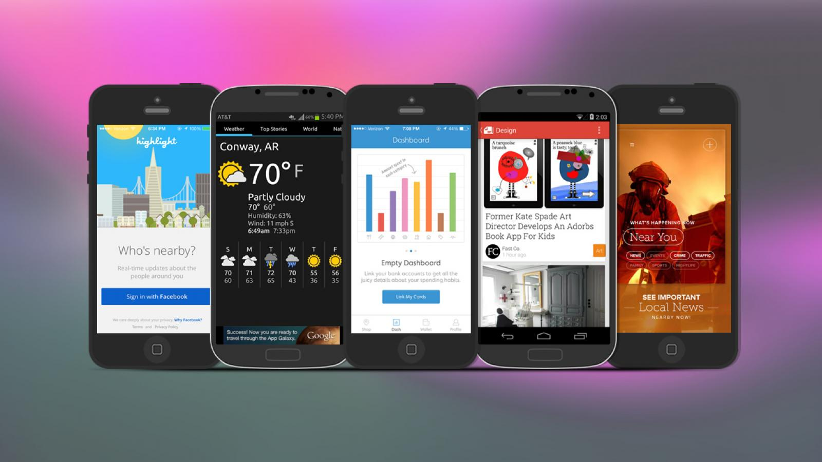 Weekly Apps: Wisely, Newsstand, Highlight and more