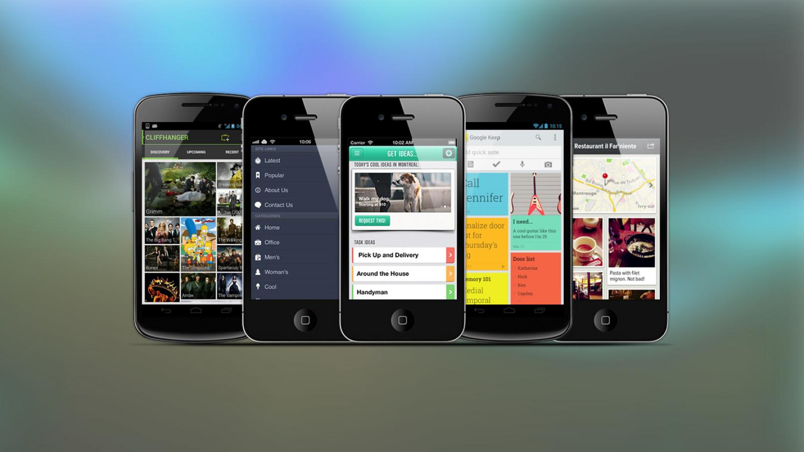 Weekly Apps: Keep, Kutoto, Cliffhanger and more