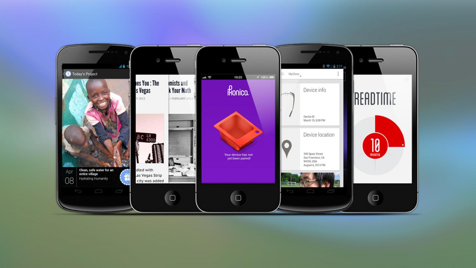 Weekly Apps: Readtime, Ikonica, MyGlass and more