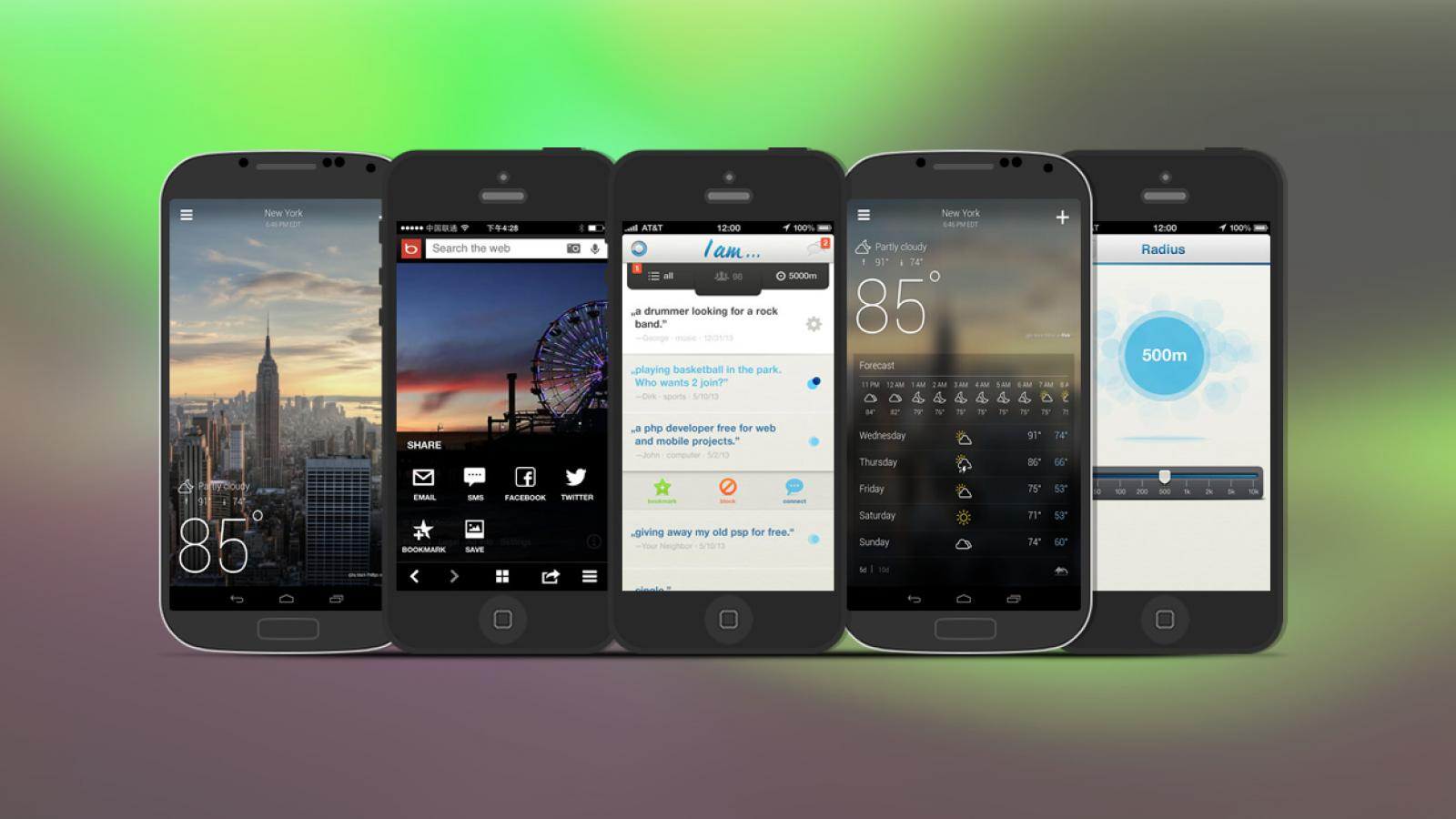 Weekly Apps: Cinch, I am..., Yahoo! Weather and more