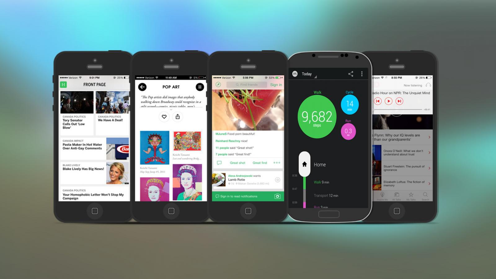 Weekly Apps: TED, Artsy, Moves and more