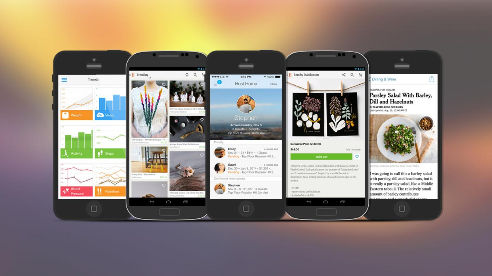 Weekly Apps: Airbnb, Ovia, NYTimes and more