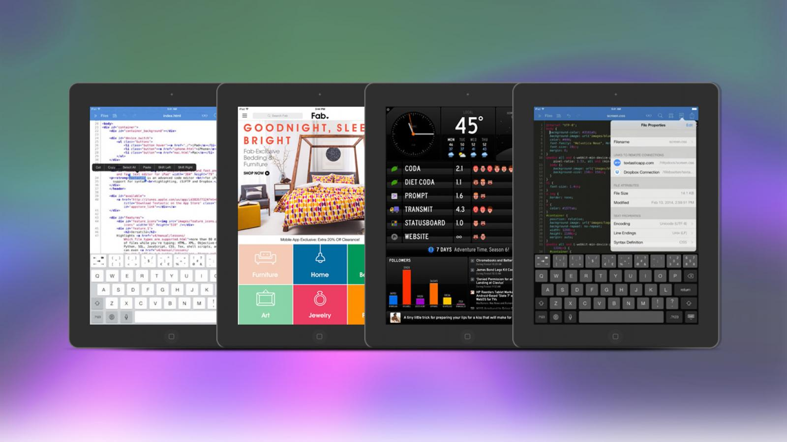 Weekly Apps: Textastic, Status Board, Duolingo and more