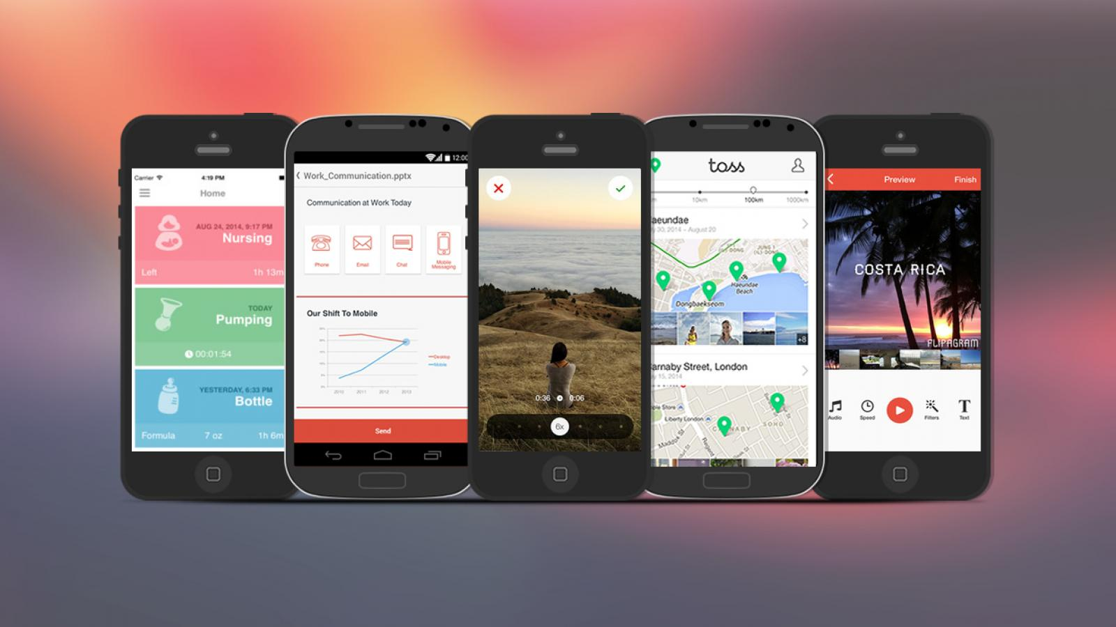 Weekly Apps: LINE Toss, Hyperlapse, Mamae and more