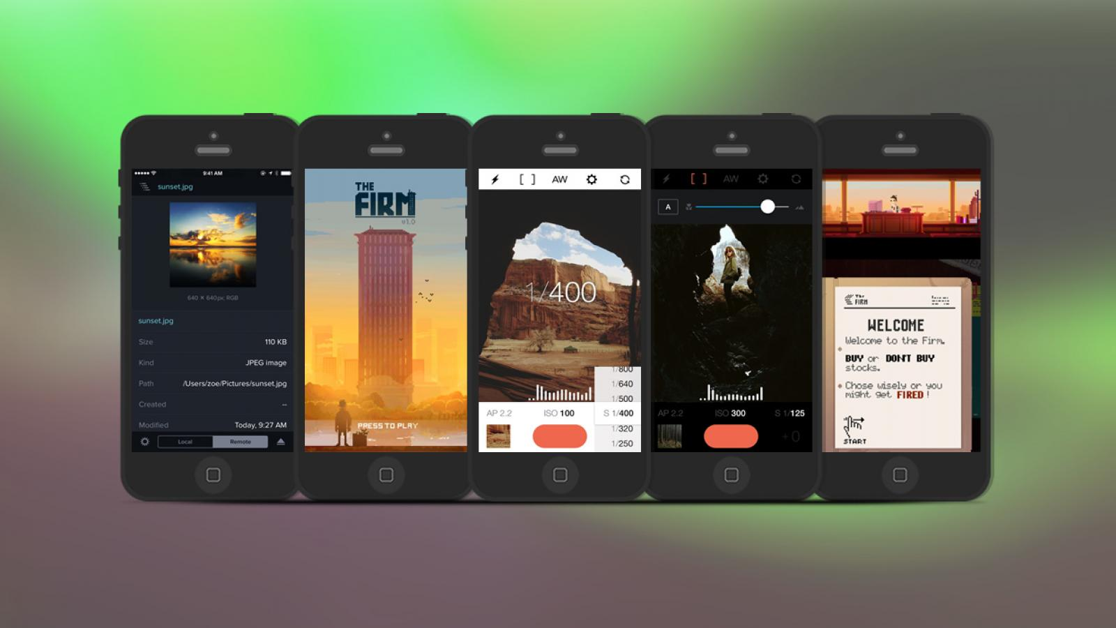 Weekly Apps: The Firm, Transmit, Manual and more