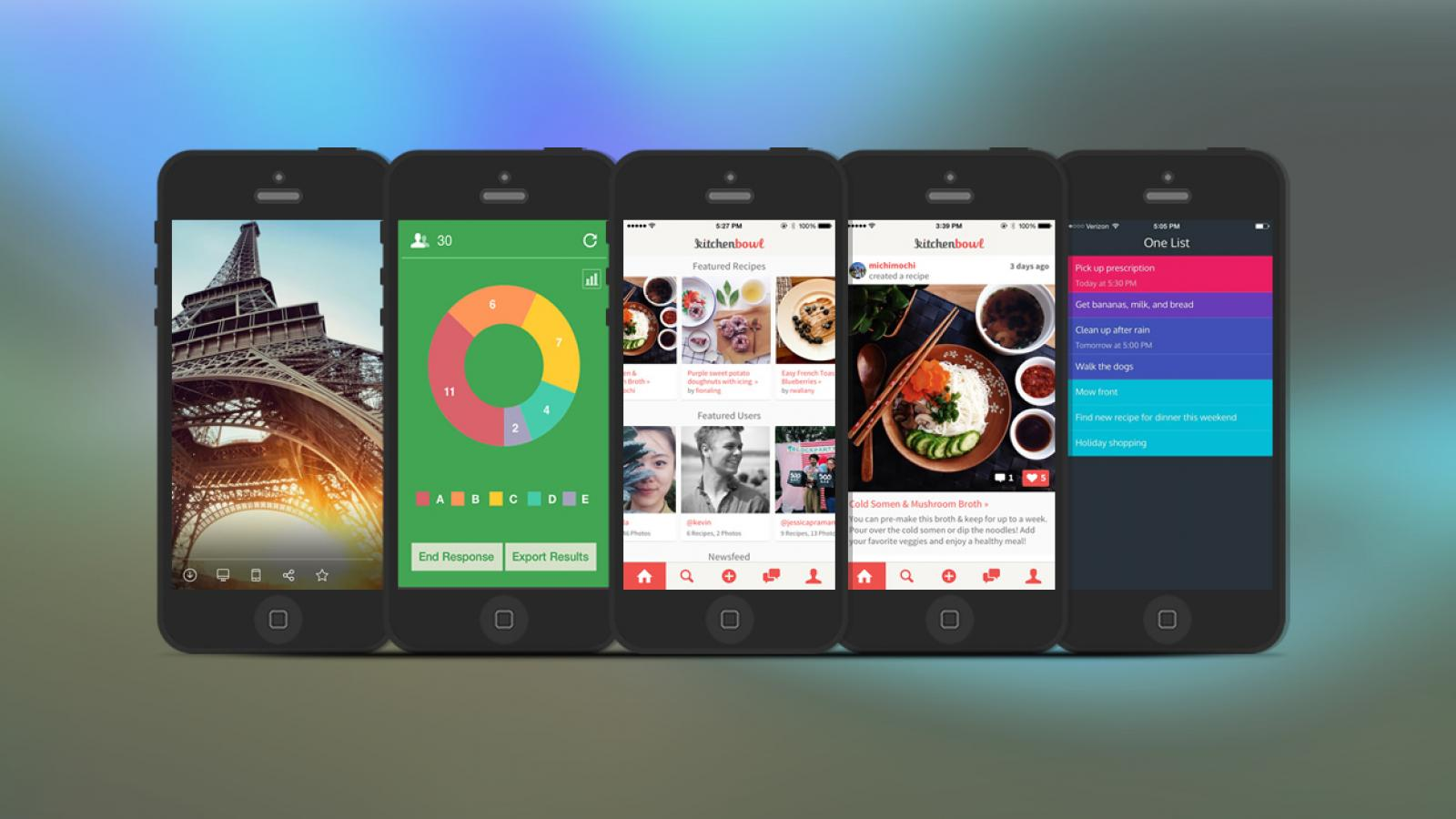 Weekly Apps: PingPong, One List, Kitchenbowl and more