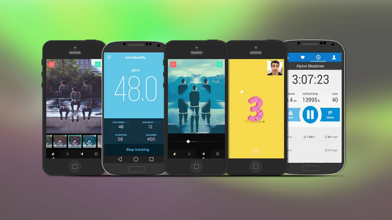 Weekly Apps: Snowbuddy, Kalipo, Spinnner and more