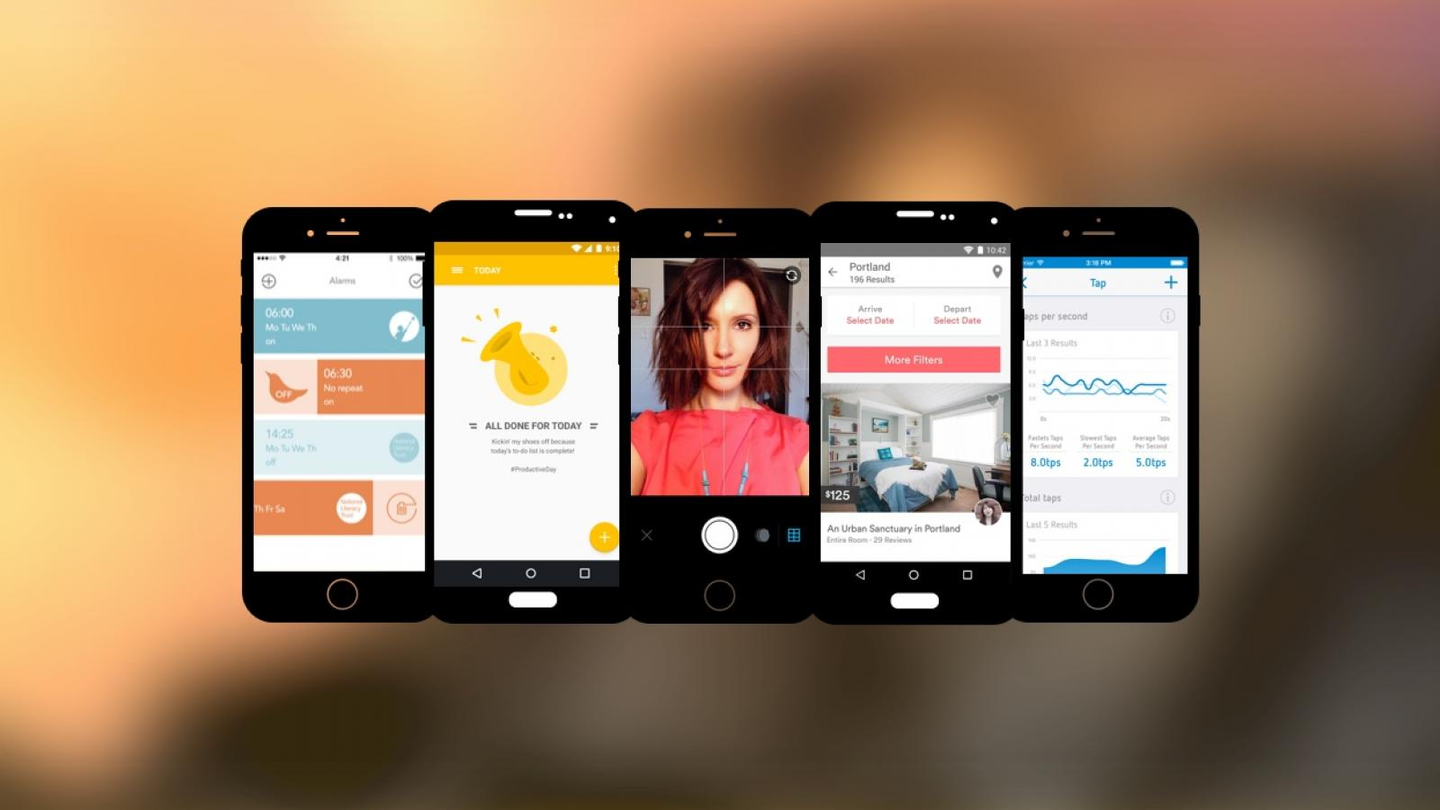 Weekly Apps: Airbnb, Everyday, Swipes and more