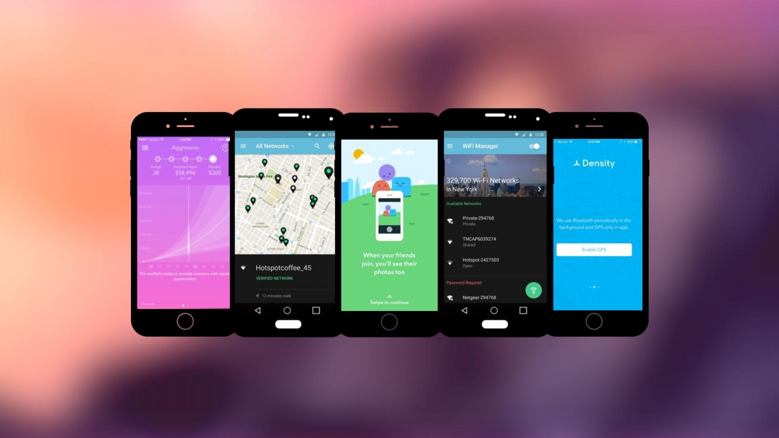 Weekly Apps: Acorns, Roll, Density and more