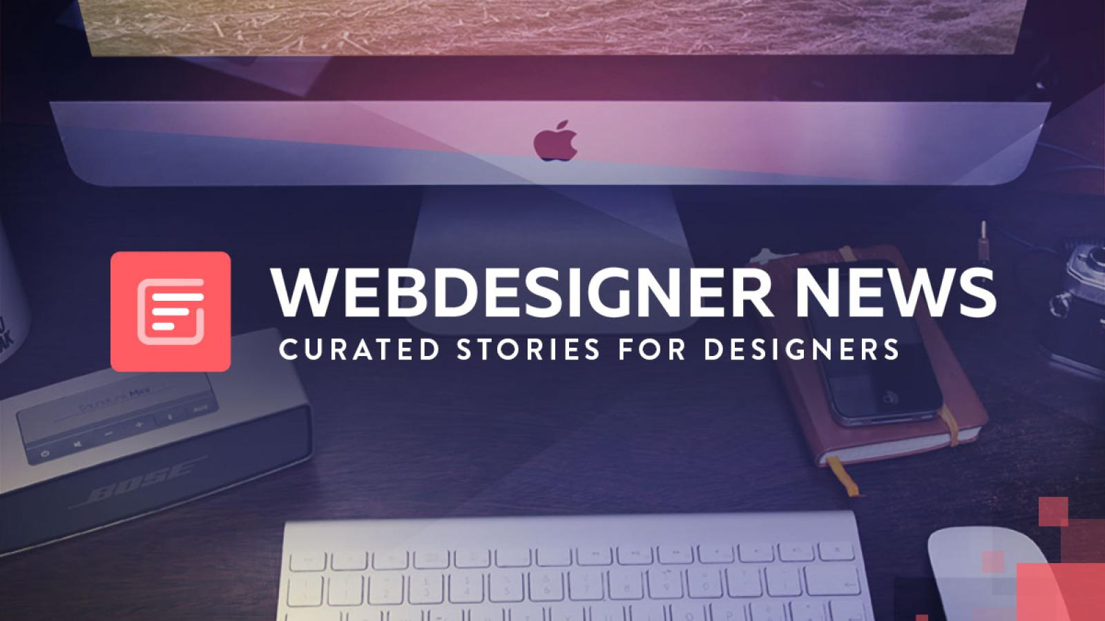 Webdesigner News: Curated Stories for Designers - Sponsored