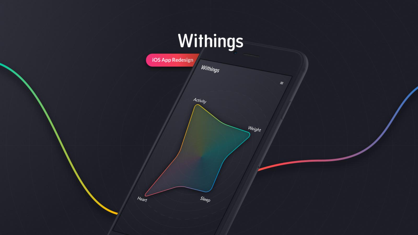Withings iOS Concept Design