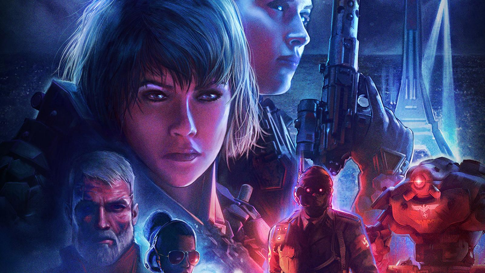 Awesome Cover Art Process for Wolfenstein: Youngblood