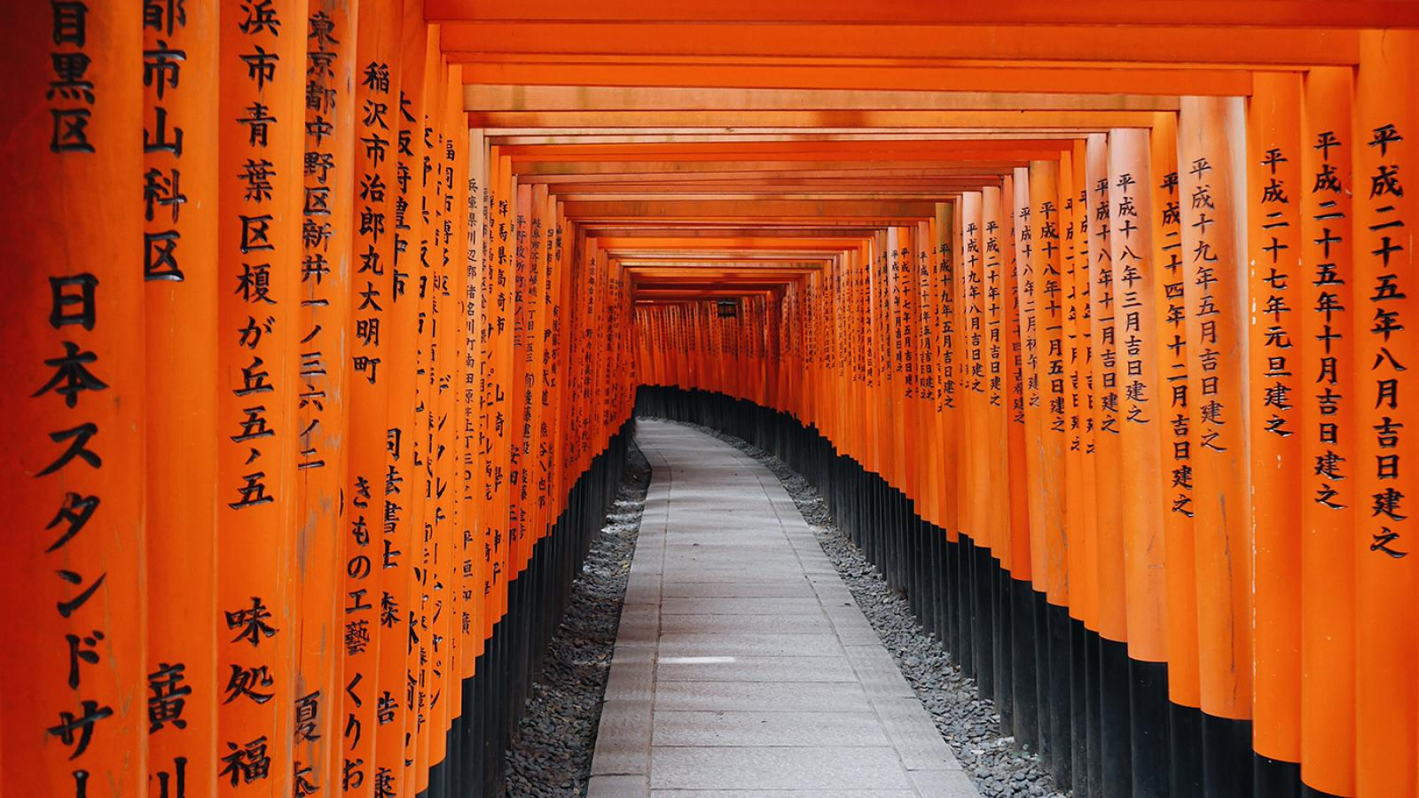 Wallpaper of the Week - Fushimi Inari Taisha