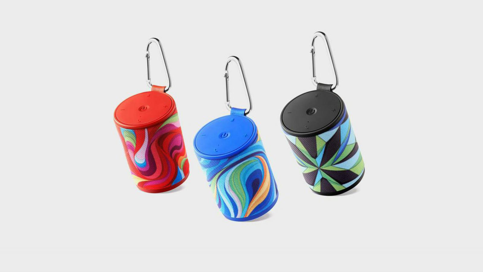 X-Pop Bluetooth Speakers by Radim Malinic