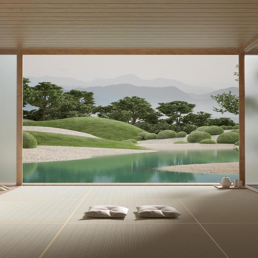 3D Architecture - The 'Japanese Garden' Series
