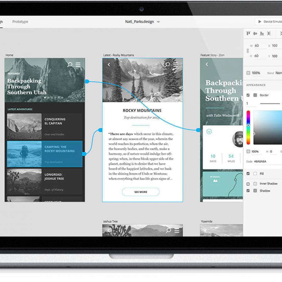 Project Comet: Adobe UX tool