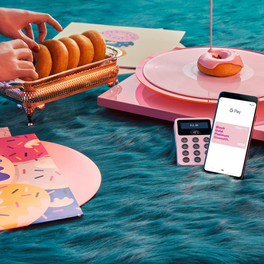 Set Design for Klarna on Google and Apple Pay