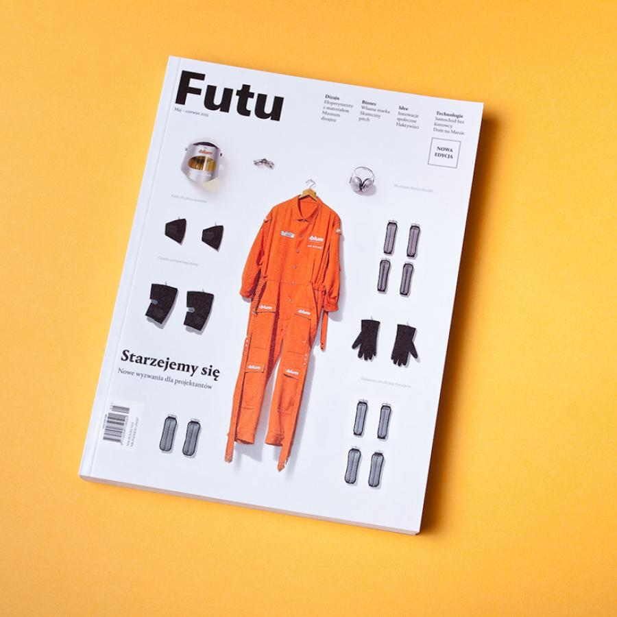Editorial Design Inspiration: Futu Magazine