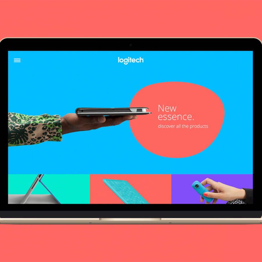 Logitech Site Design