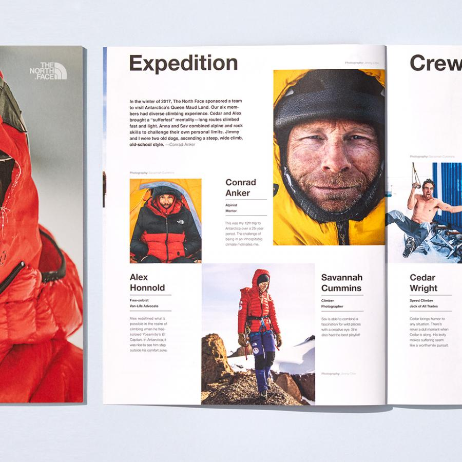 Art Direction for the North Face Winter Catalog (2018)