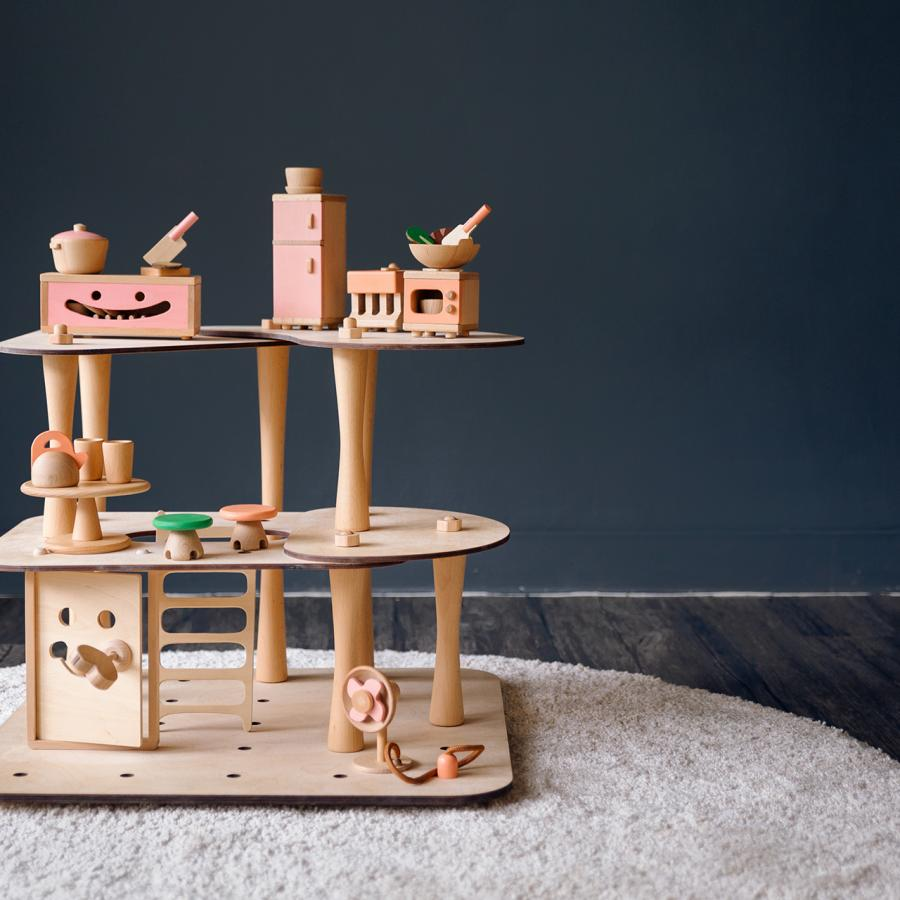 Mumu: A Set of Play Toys based on Taiwanese Cultural Lifestyle