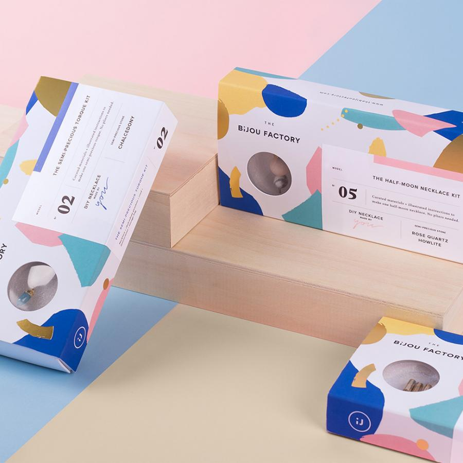 Packaging & Graphic Design: The Bijou Factory