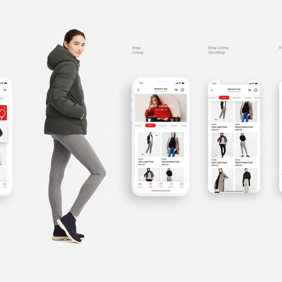 Redesigning the UI & Shopping Experience for Uniqlo HK app
