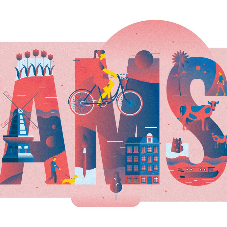 Illustration Series: Cities of Colours