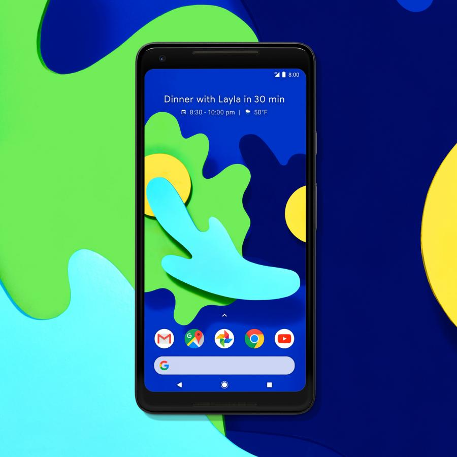 Google Pixel 2 Wallpapers by Leta Sobierajski & Wade Jeffree