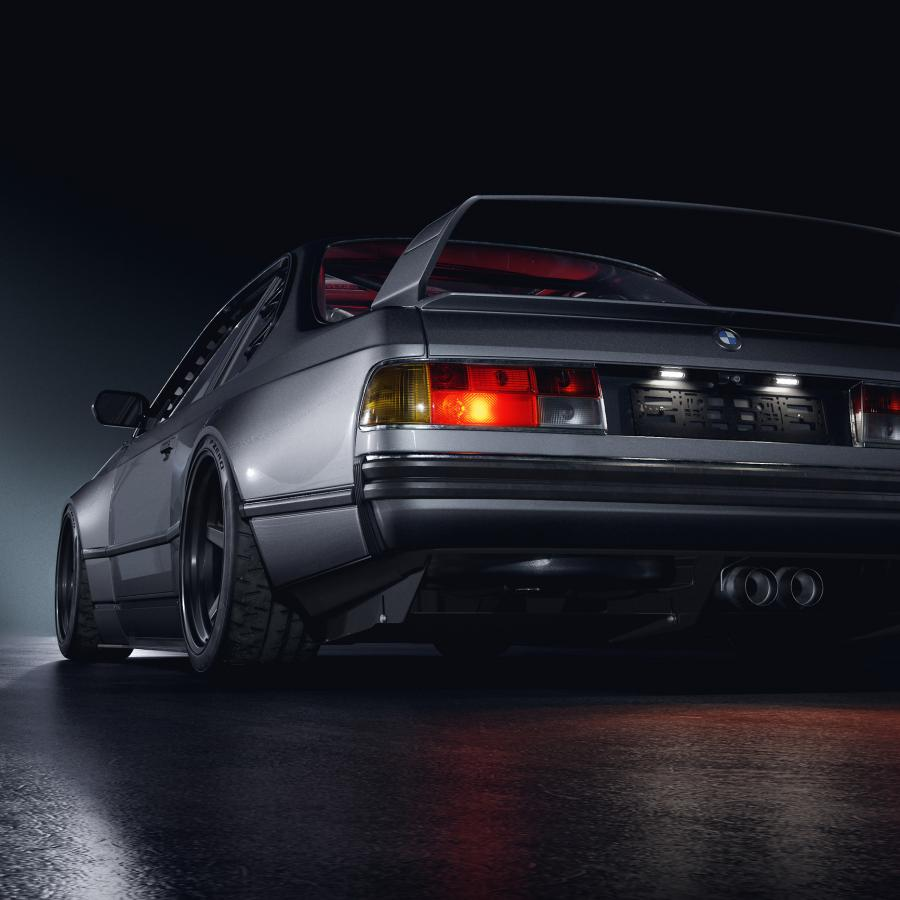 BMW E24 635 CSi Widebody - Automotive Design