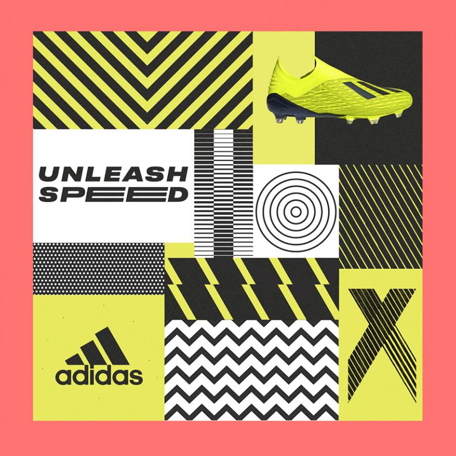 Graphic Design for Adidas Predator by Gordon Reid
