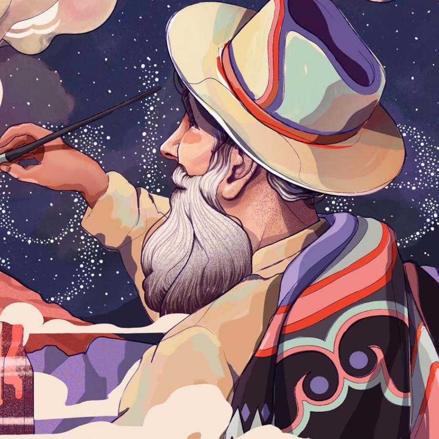 Beautiful Google Doodle Illustration by Julian Ardila