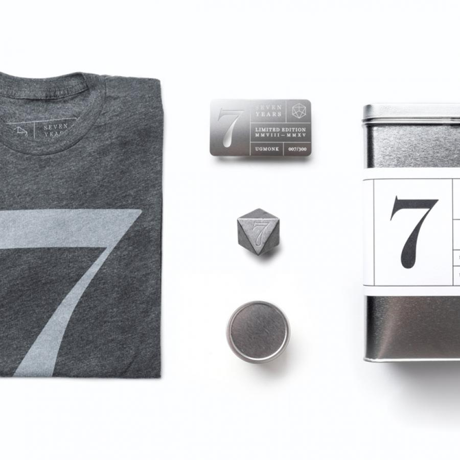Seventh Anniversary Set by Ugmonk