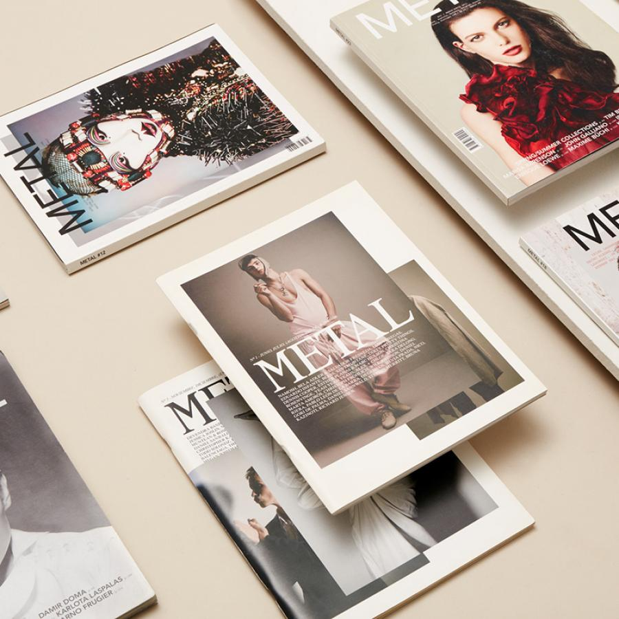 Metal Magazine Editorial Design