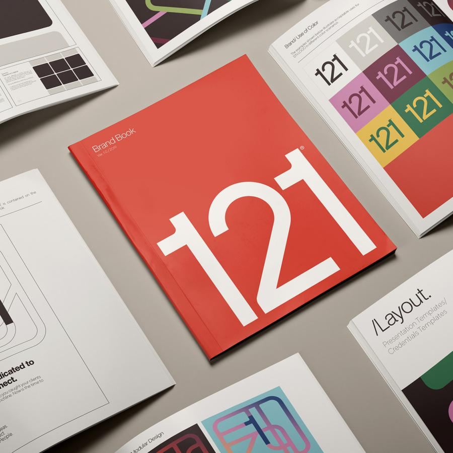 Branding & Visual Identity for 121