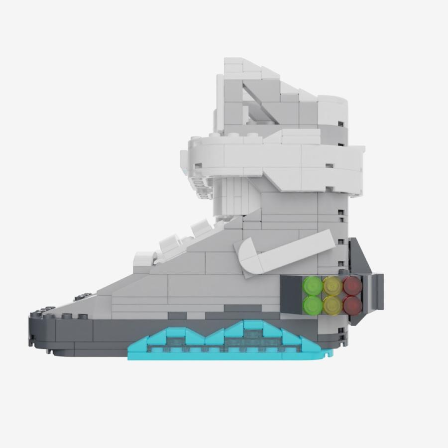Building sneakers made of Lego