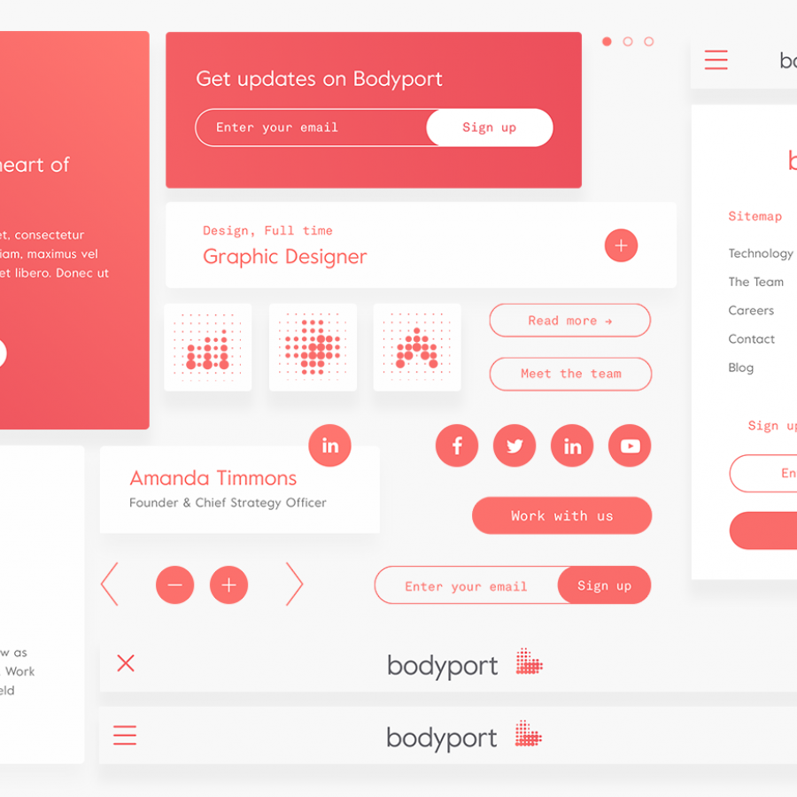 Web Design & UI/UX: Bodyport