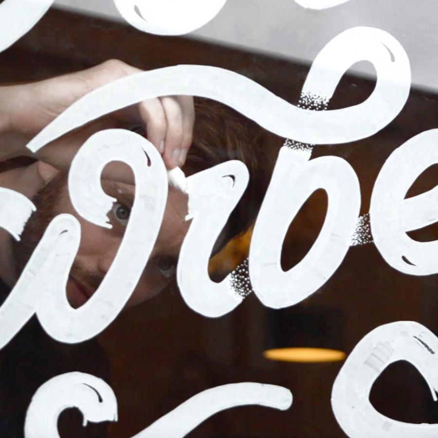 Typographic Window Display