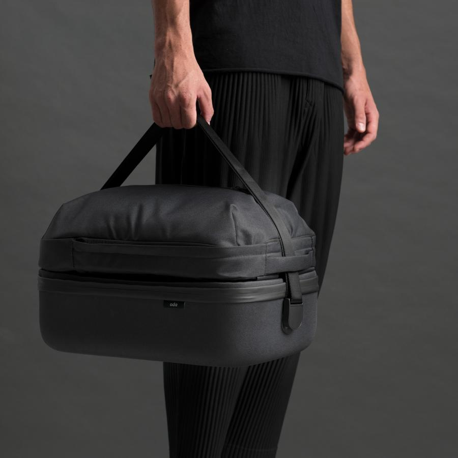 Hop, adaptable luggage can be utilized additionally as a backpack