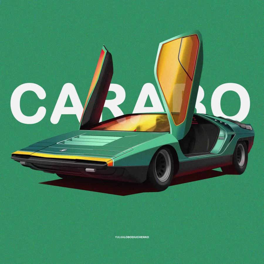 Illustration Series of the Most Iconic, Unusual and Memorable Cars in History