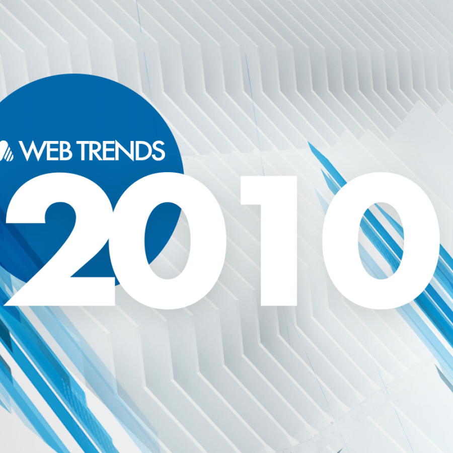 A rewind look: Web Trends 2010