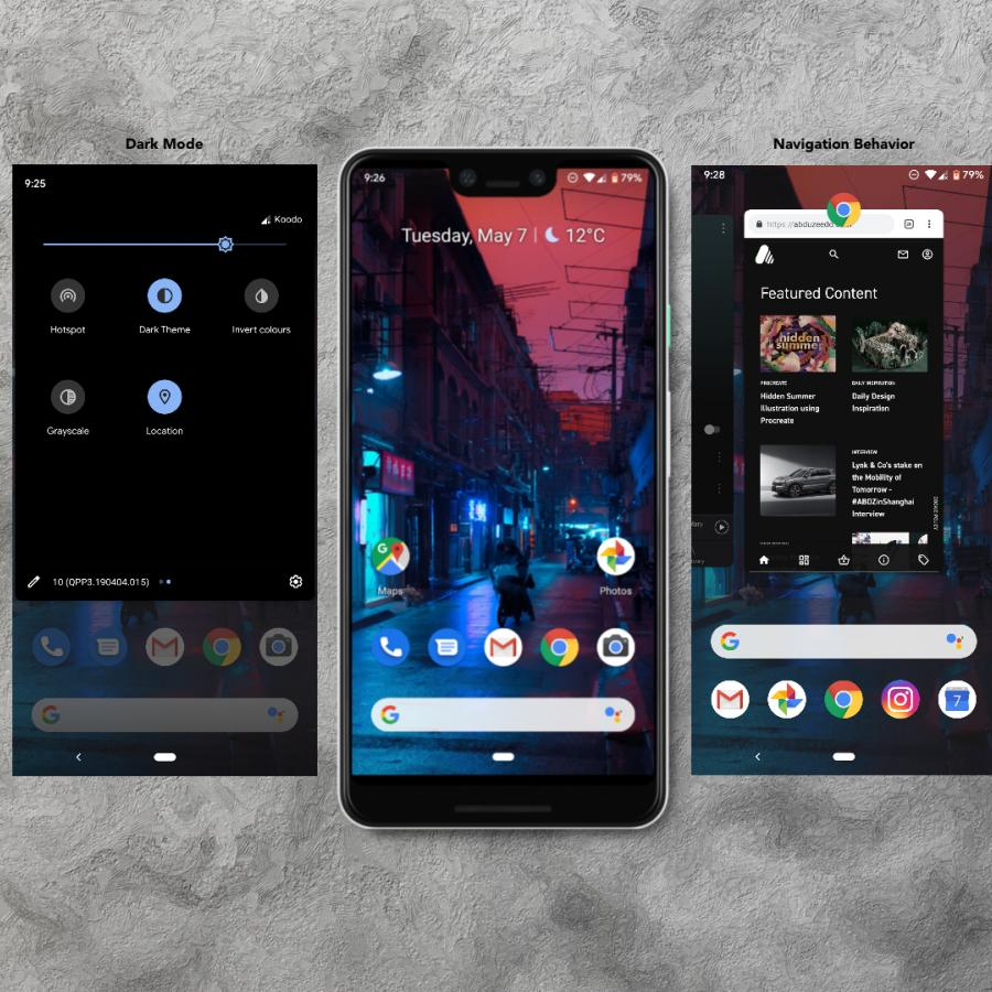 Android Q Beta: First Impressions - a UX perspective